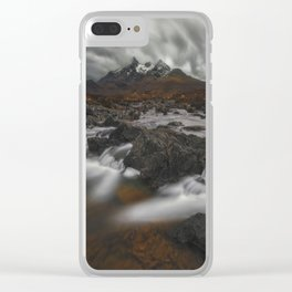 The Hills Of Cuillin Clear iPhone Case