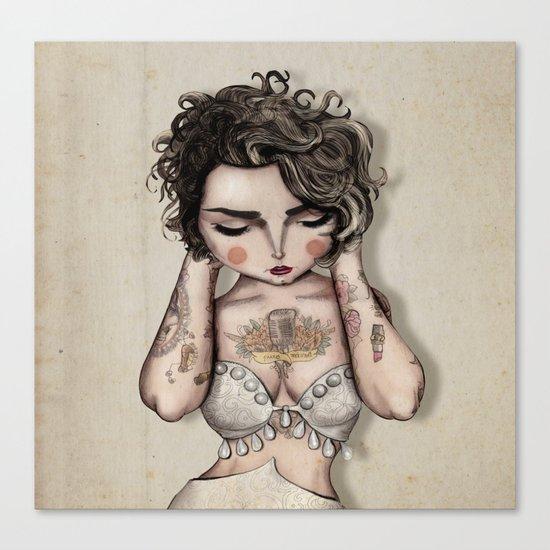 Vinila Von Bismark Canvas Print