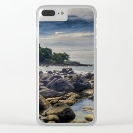 Mission Beach Australia Clear iPhone Case