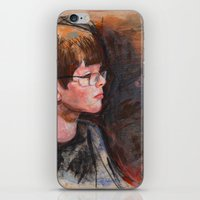 whatever iPhone & iPod Skins featuring whatever by Chris Shockley - shock schism