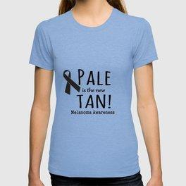 Pale is the New Tan Melanoma Awareness T-shirt