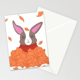 Fall attacks Stationery Cards