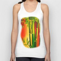 bamboo Tank Tops featuring Bamboo by OLHADARCHUK