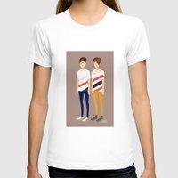 tegan and sara T-shirts featuring Tegan and Sara: TnS #1 by Cas.