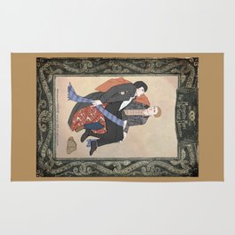 Memento Mori for the Great Detective (Sherlock Holmes) Rug