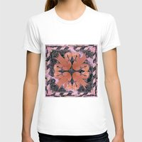 flamingos T-shirts featuring Flamingos  by Galvanise The Dog