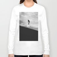 fly Long Sleeve T-shirts featuring Fly by Adrian Lungu