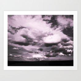 Cloudy Sky #decor #society6 Art Print