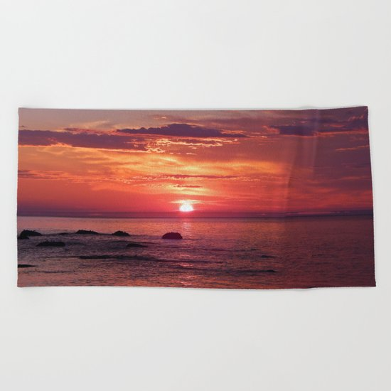 The Flamboyant One Beach Towel