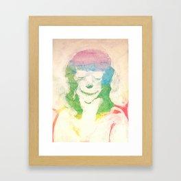 portrait of the artist as a demon Framed Art Print