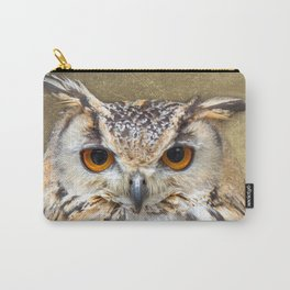 Indian Eagle Owl Carry-All Pouch
