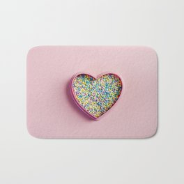 I heart sprinkles Bath Mat
