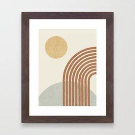 Sunny Hill Framed Art Print