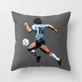 El Diez Throw Pillow