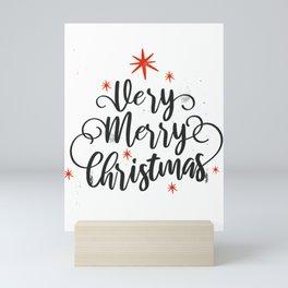 Merry-christmasFunny design Mini Art Print