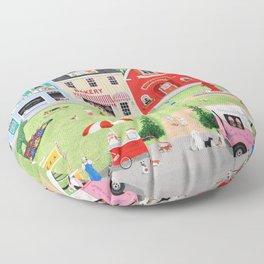 Doggie Heaven Floor Pillow
