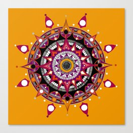 Mandala 010 Canvas Print