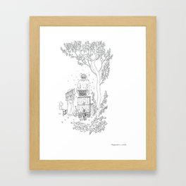 beegarden.works 004 Framed Art Print
