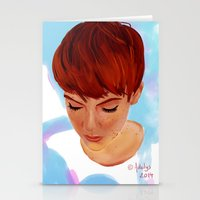 ginger Stationery Cards featuring Ginger by Adelys
