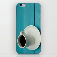 coffe iPhone & iPod Skins featuring Coffe by Camaracraft