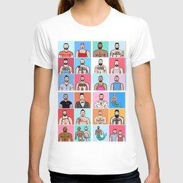 Beard Boy: Collage T-shirt