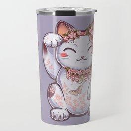 Hanami Maneki Neko: Shun Travel Mug