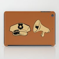 police iPad Cases featuring Police Academy by FilmsQuiz