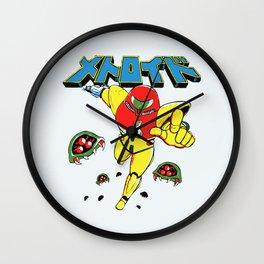 Metroid Japanese Promo Wall Clock