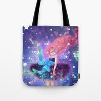 prism Tote Bags featuring Prism by Roots-Love