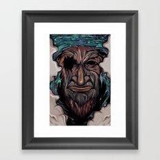 The last one Framed Art Print
