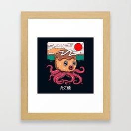 Octakoyaki Framed Art Print
