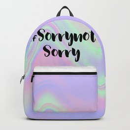 SorrynotSorry Backpack