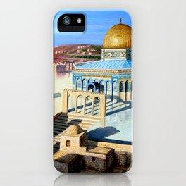 Dome of the rock-JERUSALEM iPhone Case