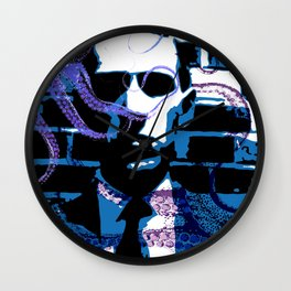 H. P. Lovecraft Poster Wall Clock