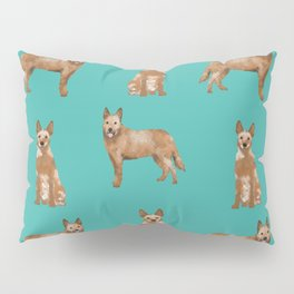 Australian Cattle Dog red heeler love dog breed gifts cattle dogs by pet friendly Pillow Sham