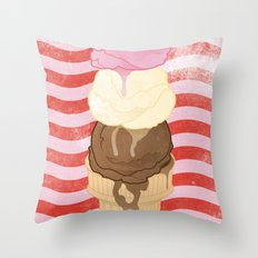 NEOPOLITAN Throw Pillow