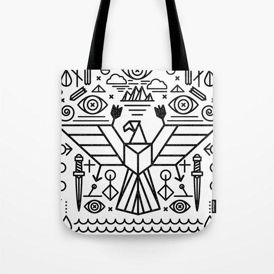 Secret Eagle Tote Bag