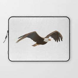 Flying Bald Eagle Laptop Sleeve