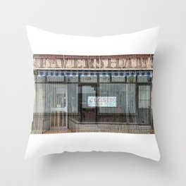 Dead Shop 08 Throw Pillow