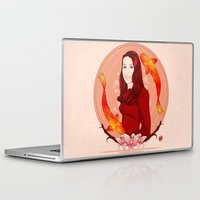 pisces Laptop & iPad Skins featuring Pisces by Vanesa Abati