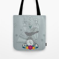 folk Tote Bags featuring Folk by karyn johnstone