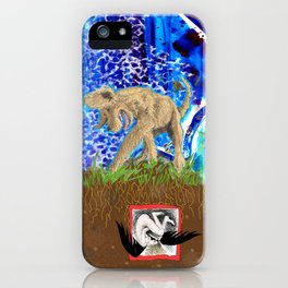 Digging Up the Girl, Growing the Girl iPhone Case