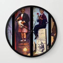 haunted mansion People Wall Clock