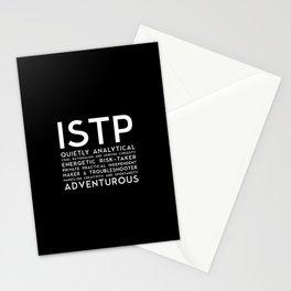 ISTP (black version) Stationery Cards