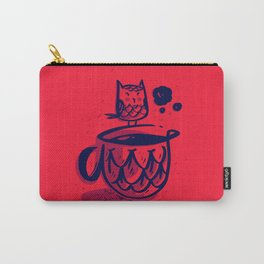 Owl N Coffee Carry-All Pouch