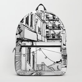 Concrete Jungle (BW) Backpack