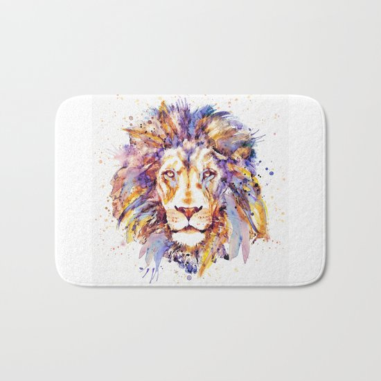 Lion Head Bath Mat