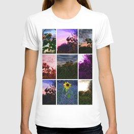 Sunflower Collage T-shirt