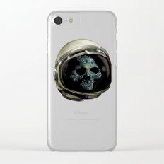 Holy Starman Skull II Clear iPhone Case