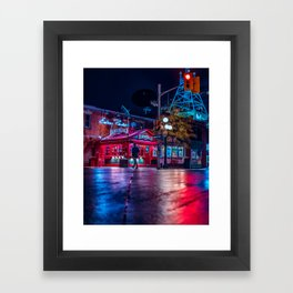 chosen path Framed Art Print